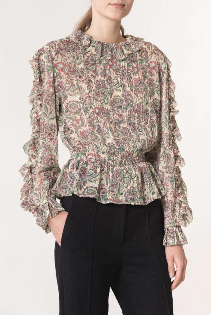 Lina blouse floral