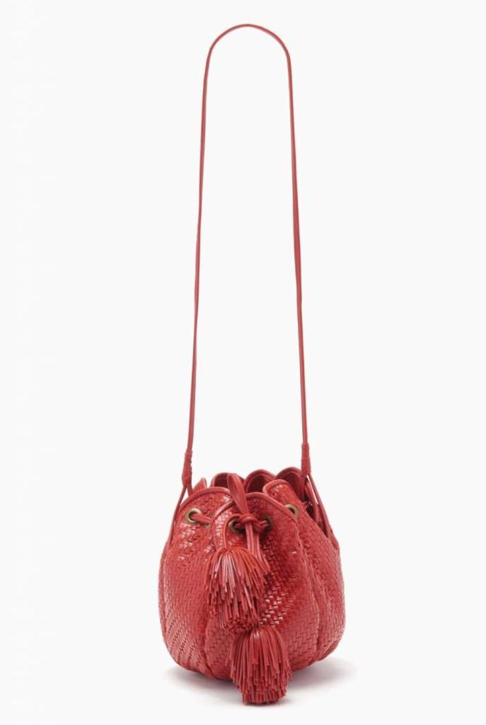 Tulip bag Cherry