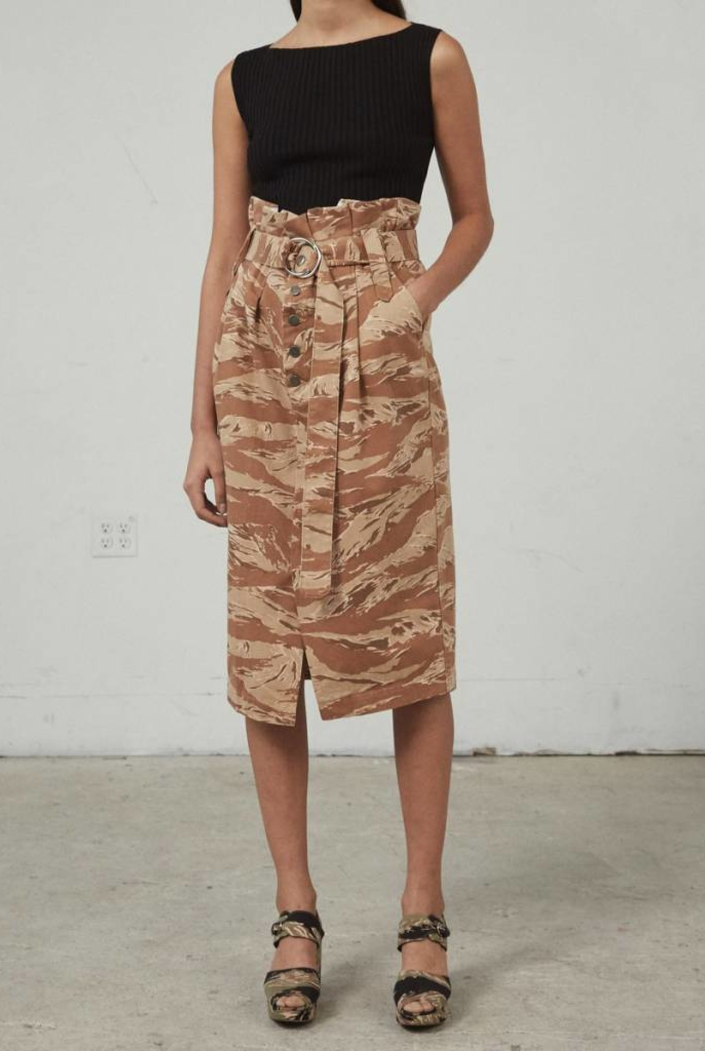 Bindle skirt camo