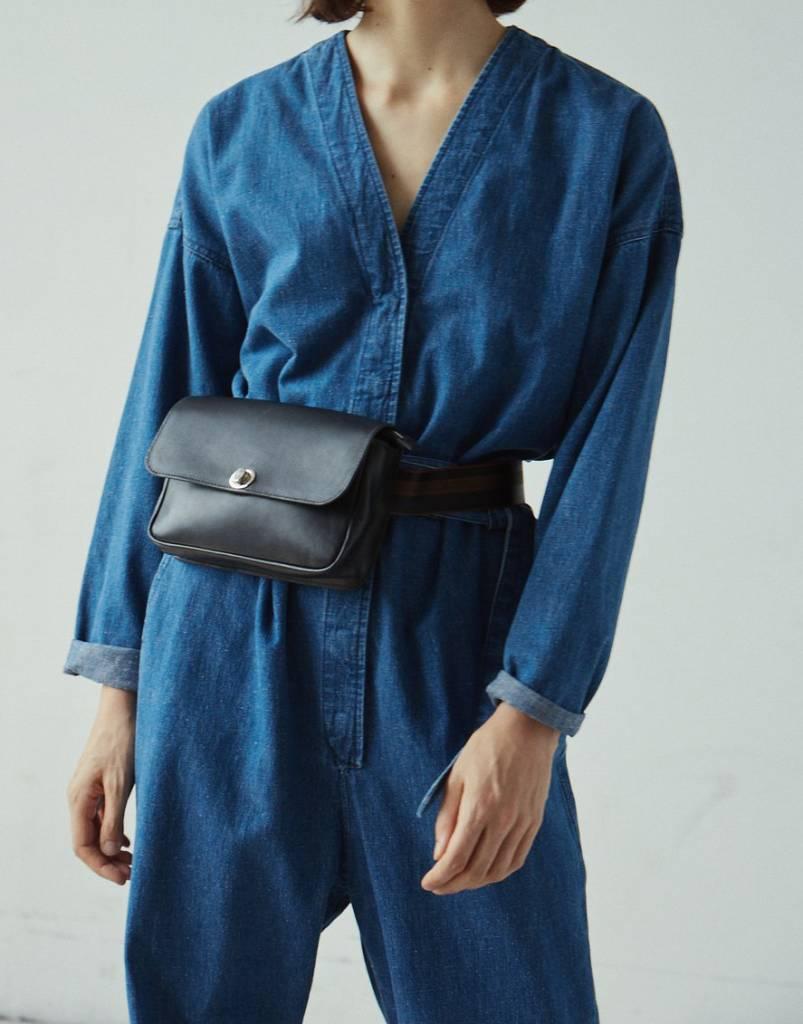 Glitch jumpsuit classic indigo