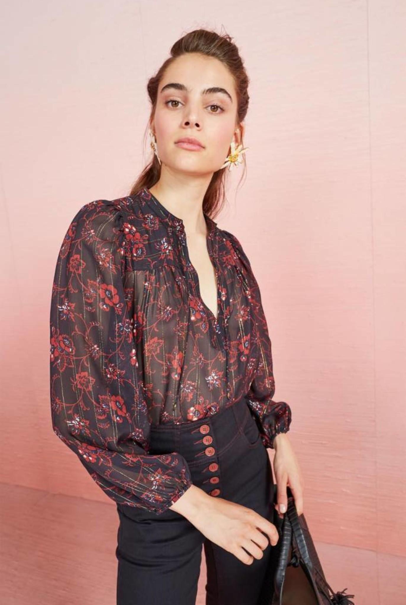 Constance blouse Noir