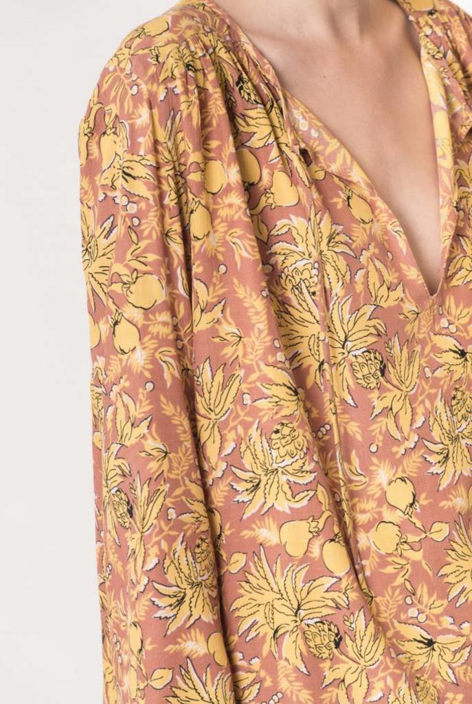 Diaz blouse hazelnut