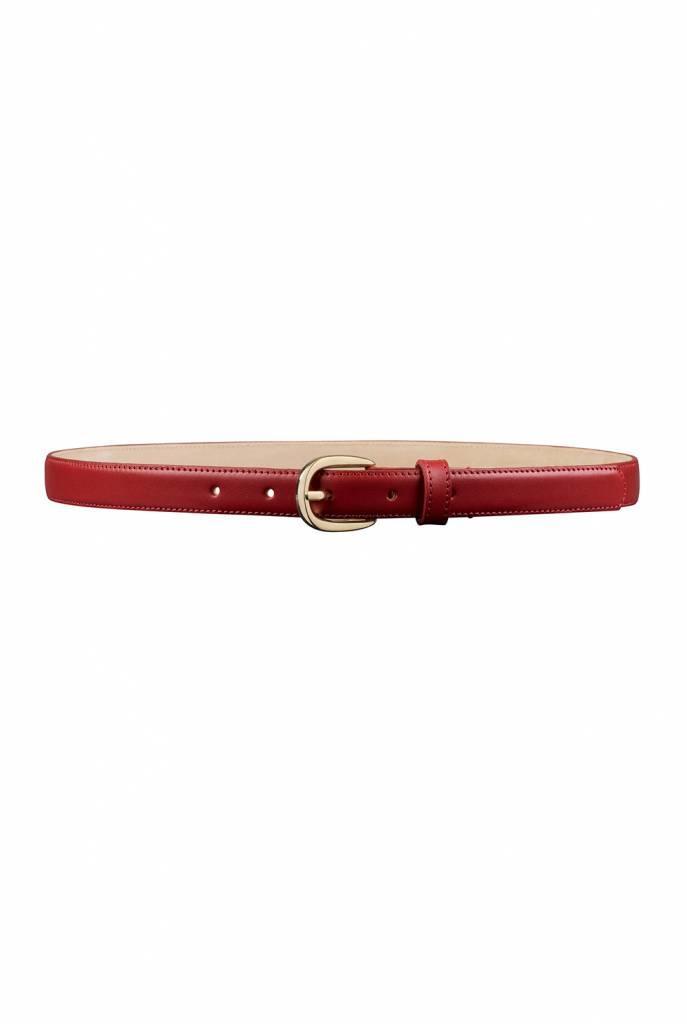 Rosette belt red