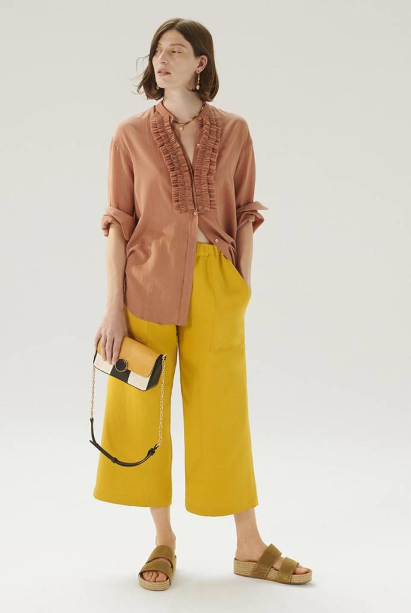Leana blouse Litchi
