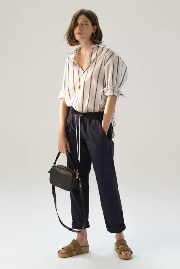 Heliane blouse Ecru stripe