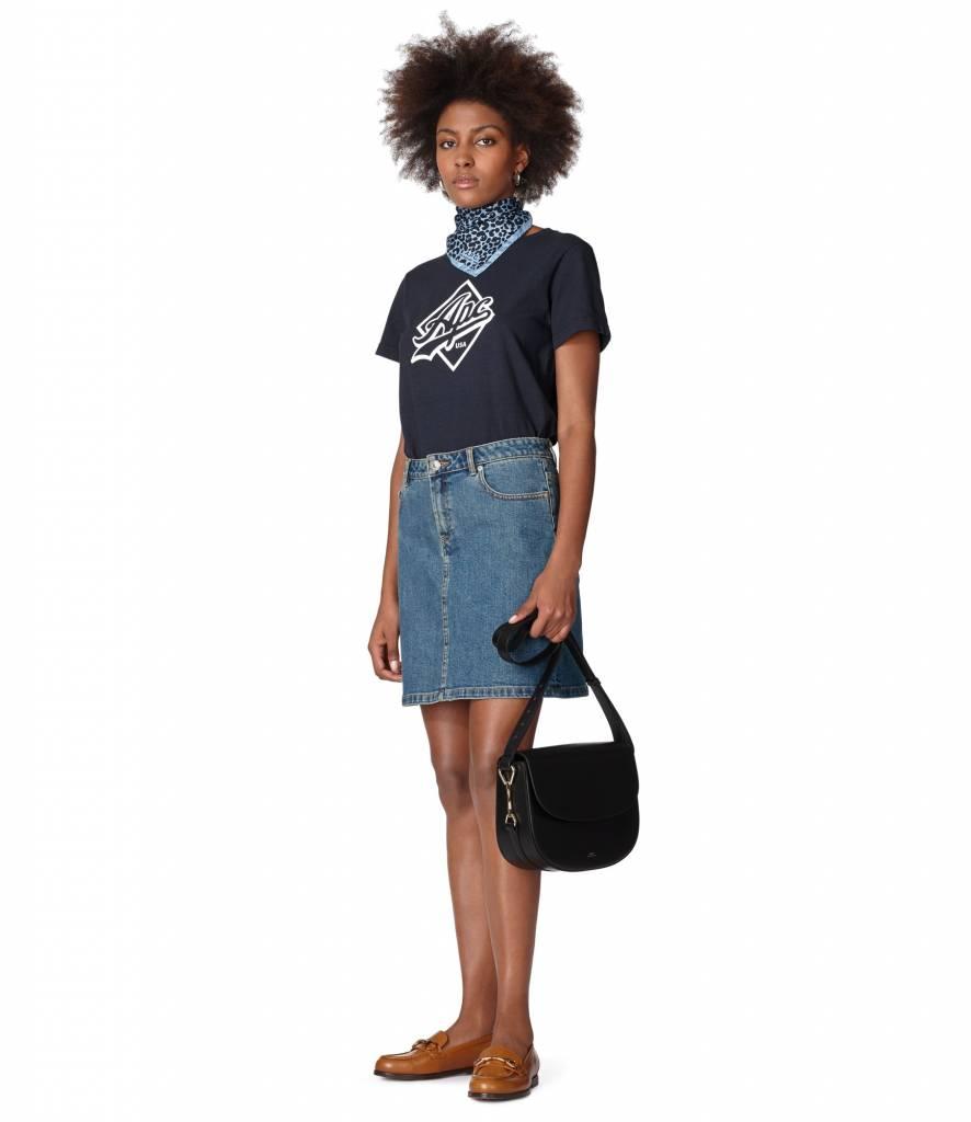 Althea t-shirt dark navy