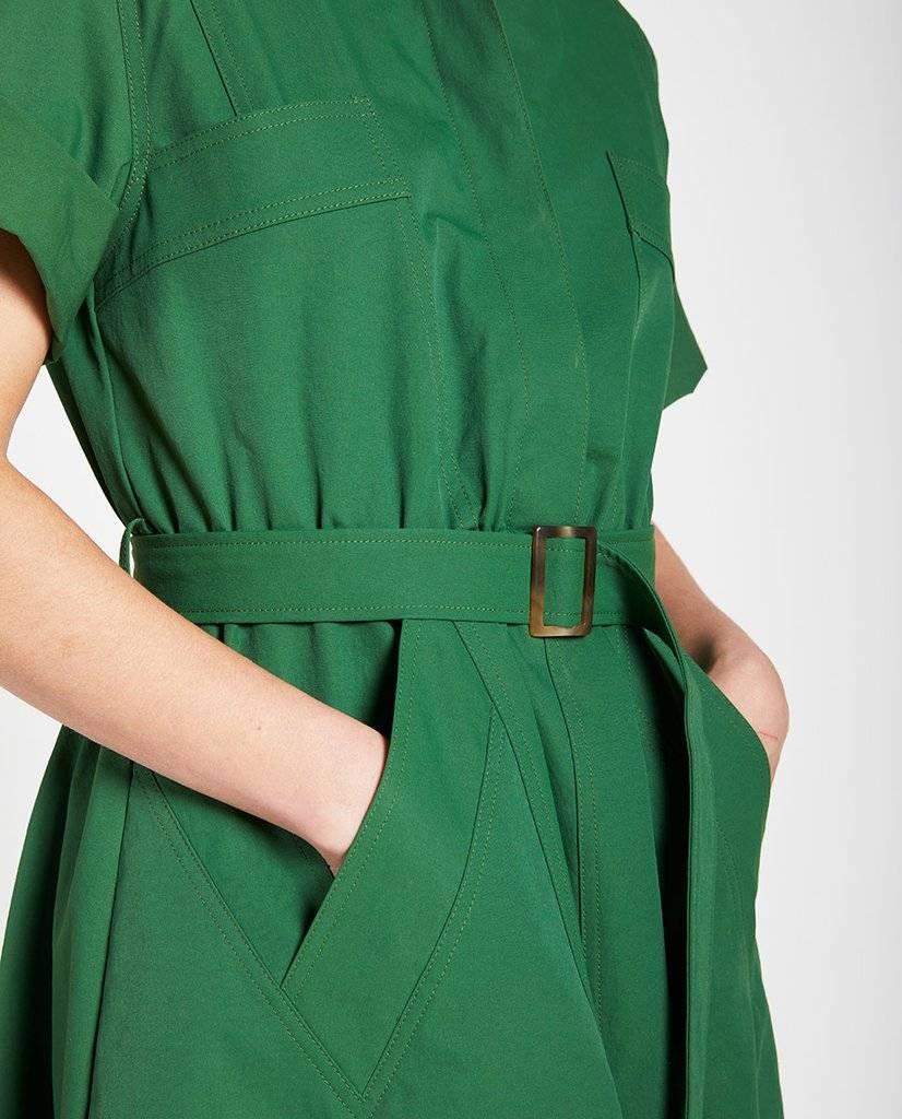 Solaris dress green