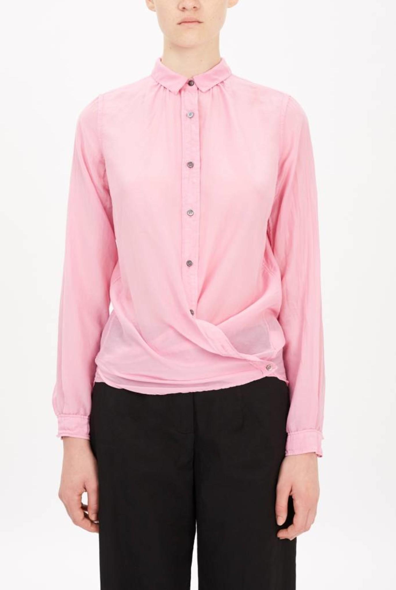 thin blouse pink