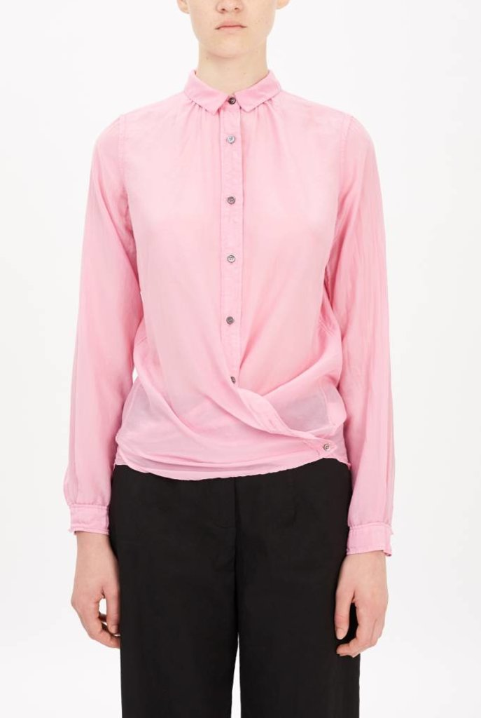thin blouse pink