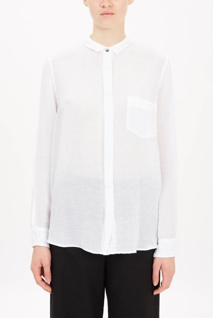 white blouse linen cotton