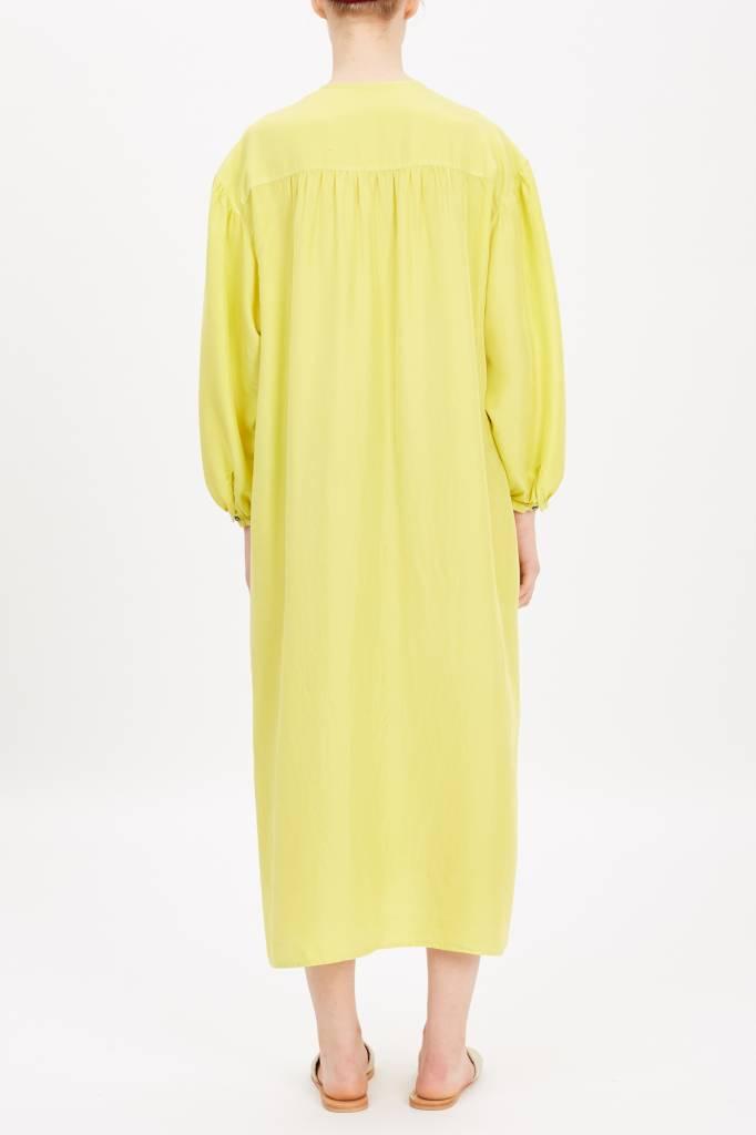 long dress apple green