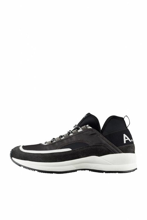 Run around sneakers black