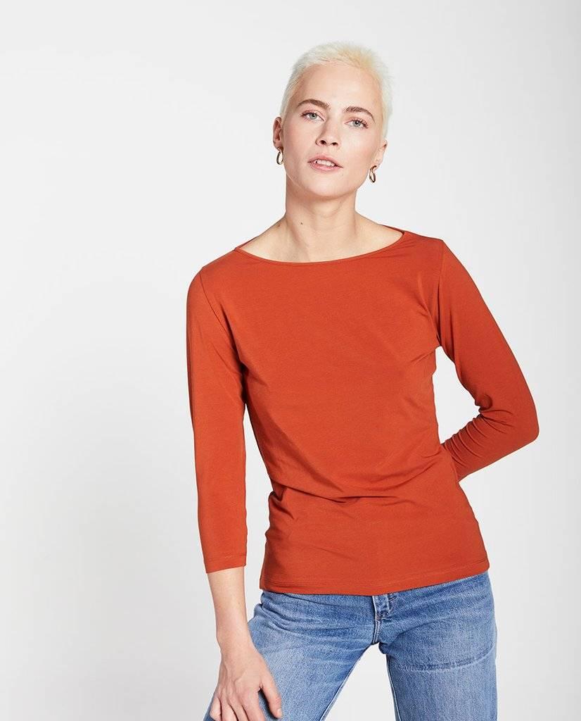 Dance t-shirt rust