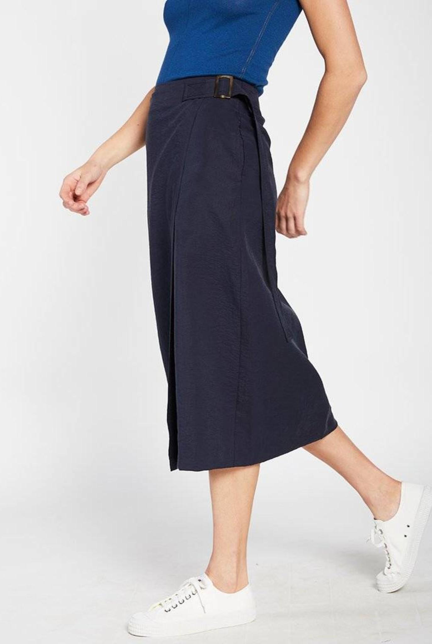 Tarkovsky skirt night blue