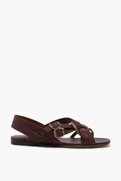 Spartacus sandal tabacco