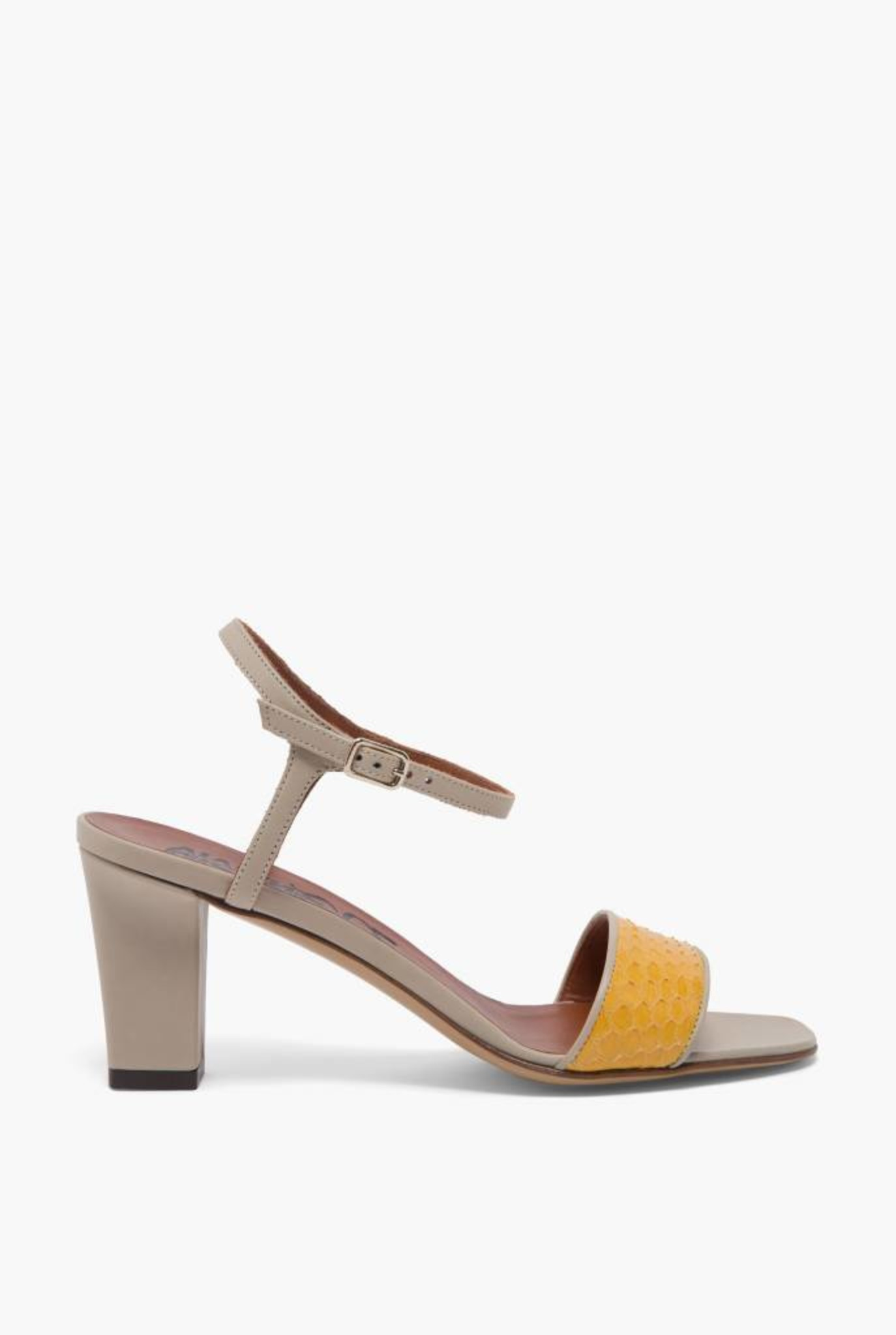 Hellza sandal yellow grey