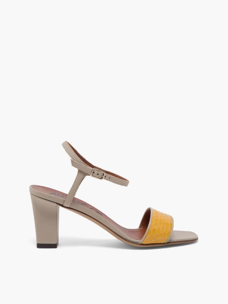 Hellza sandal yellow grey