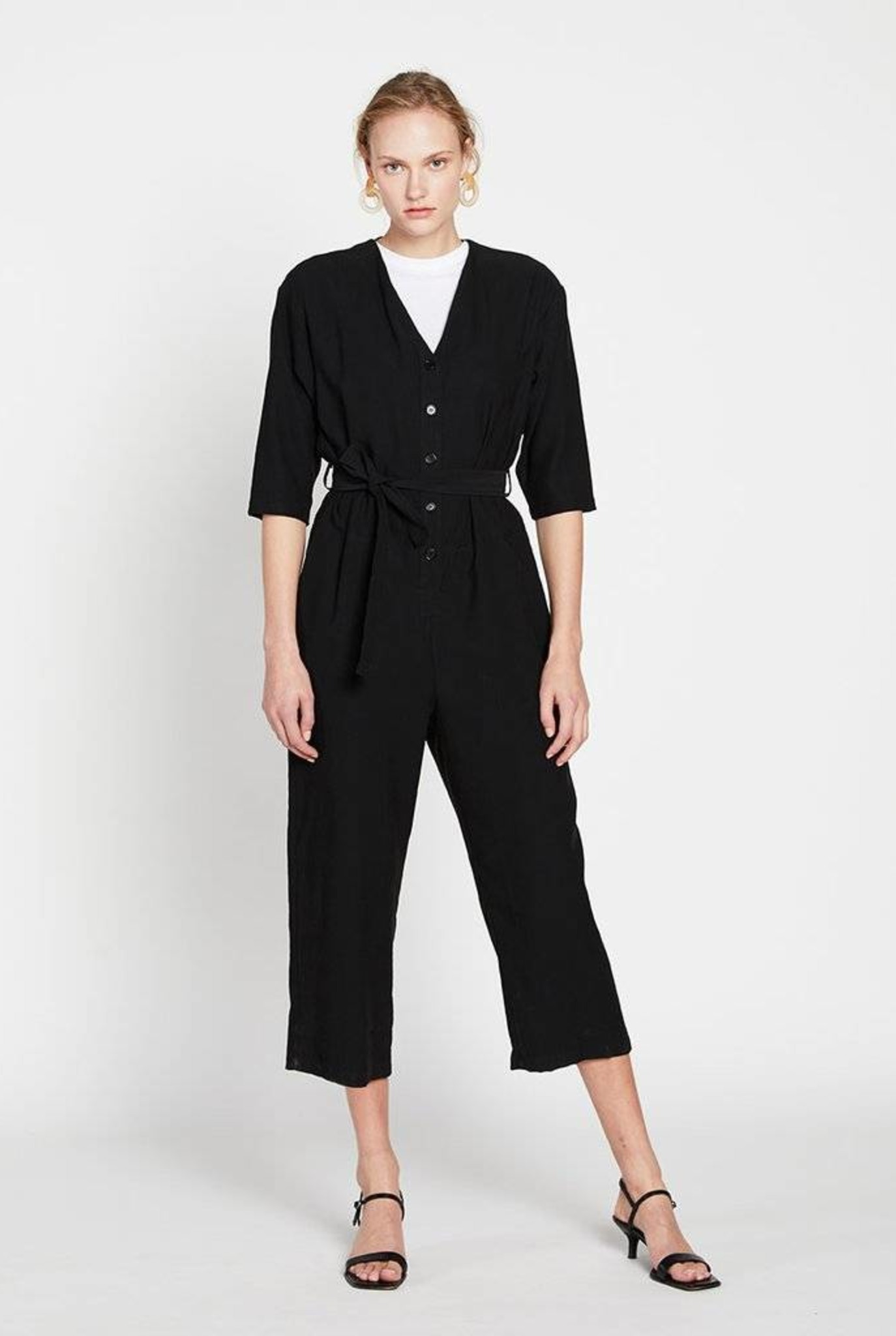 Dogville jumpsuit black