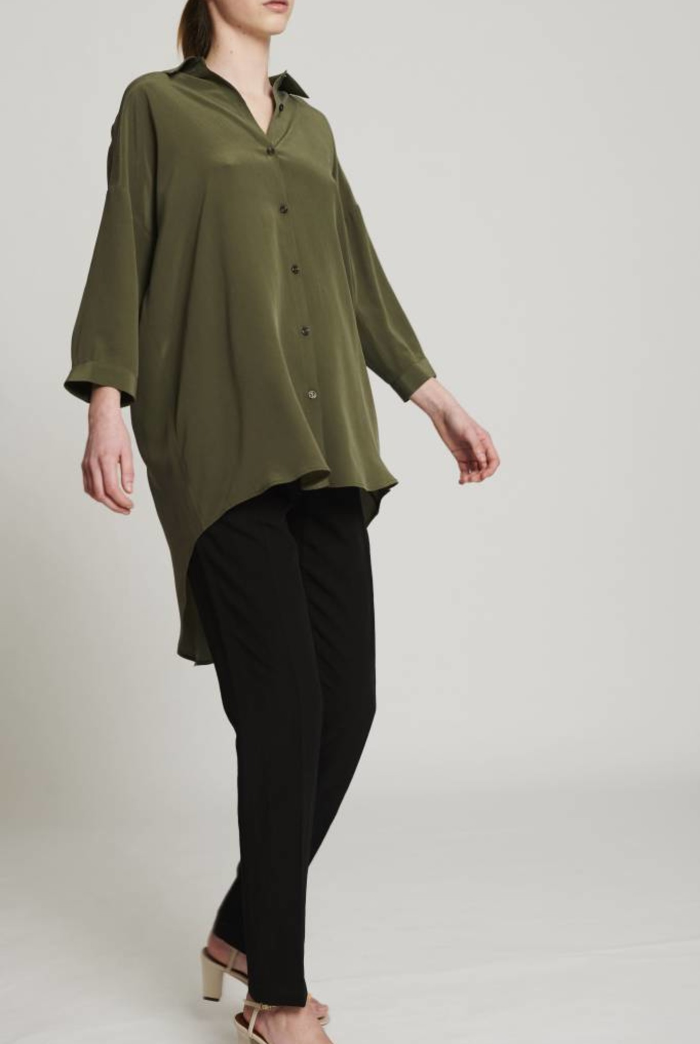 114d8b718f9e Bianca shirt Olive green Kokoon ...