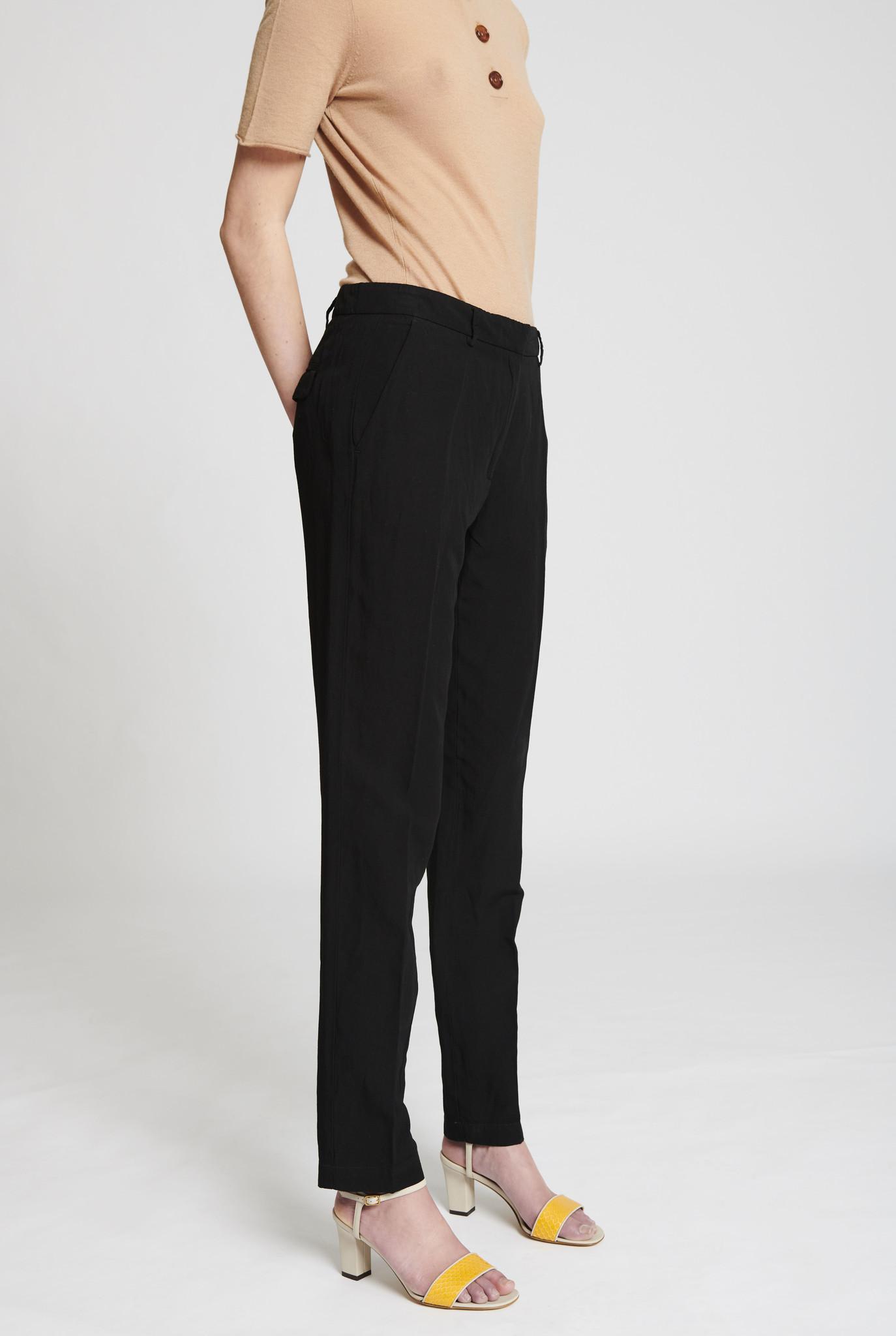 cigarette trouser black