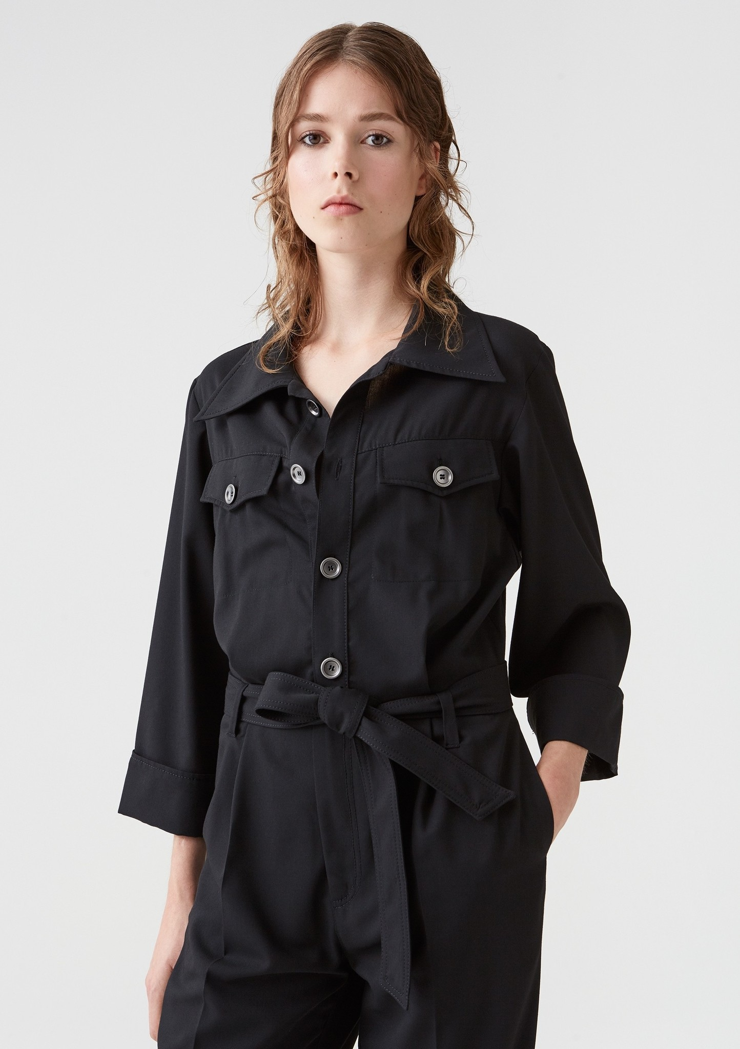 Sync jumpsuit Black