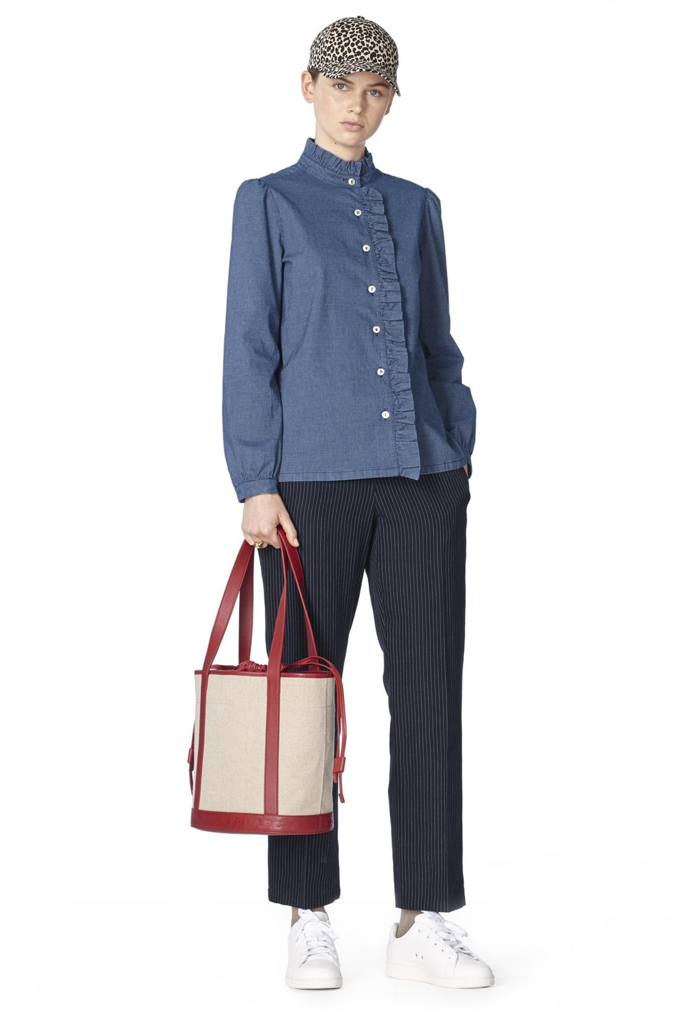 Dunst blouse indigo