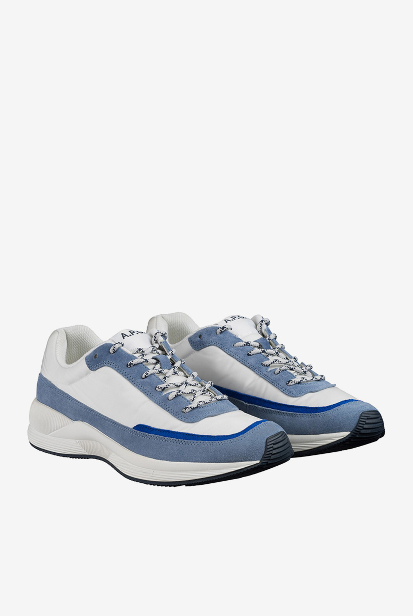 Running femme sneaker blue grey