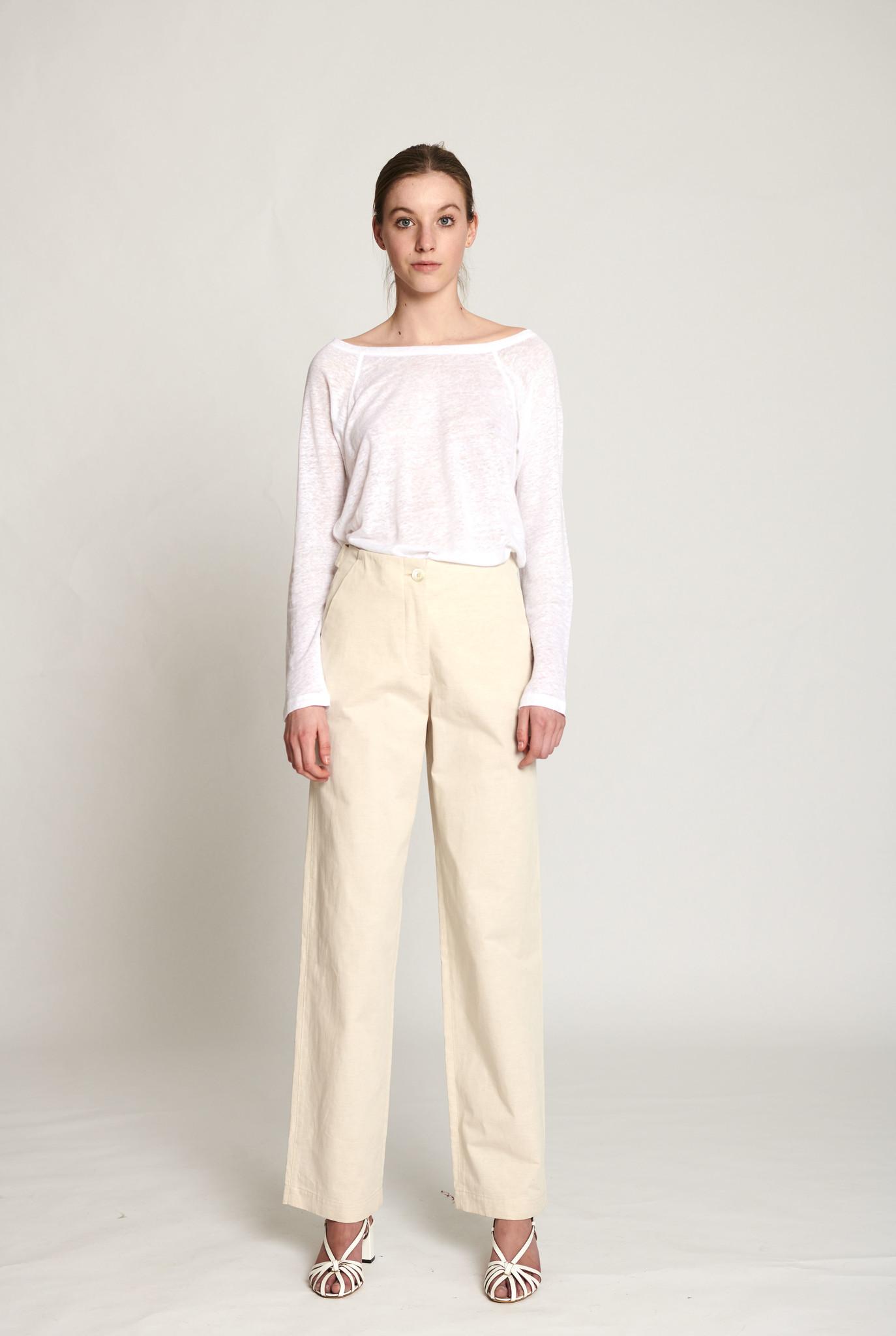 Laitue trouser off white
