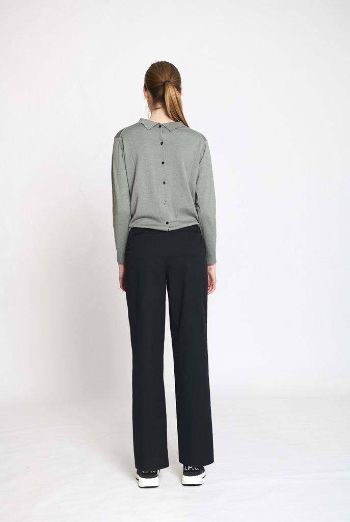 Elegant Claudine sweater Mineral