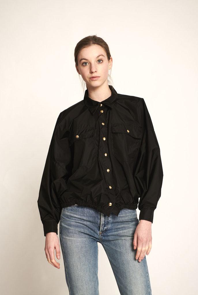 Puffed jacket black
