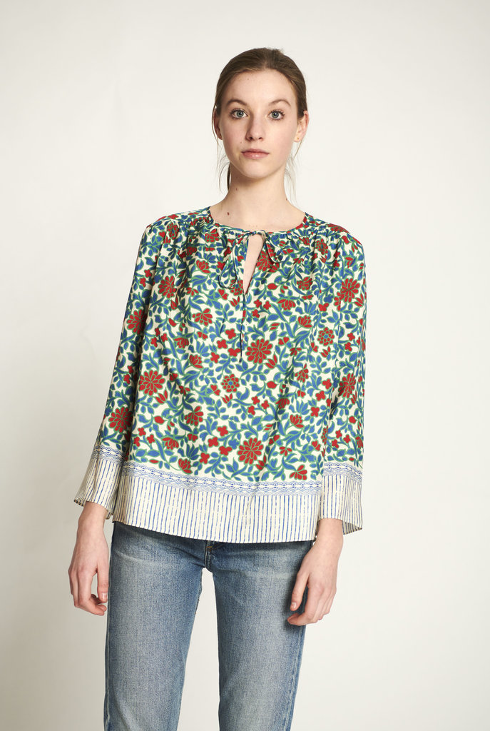 Diaz blouse emerald