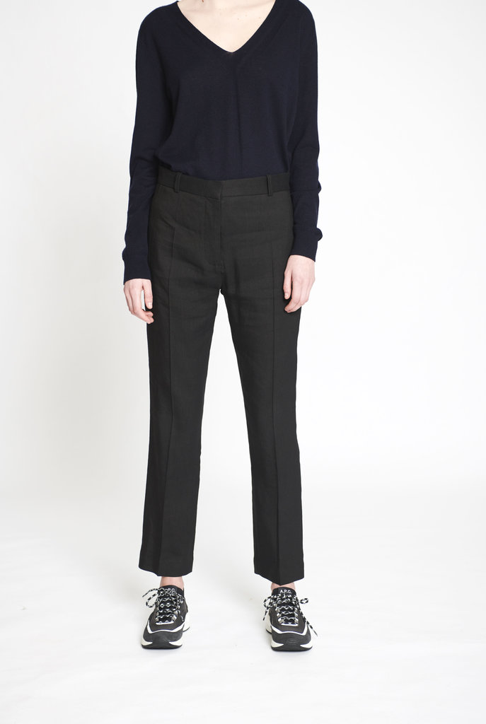 Zoom Linen Stretch trouser black