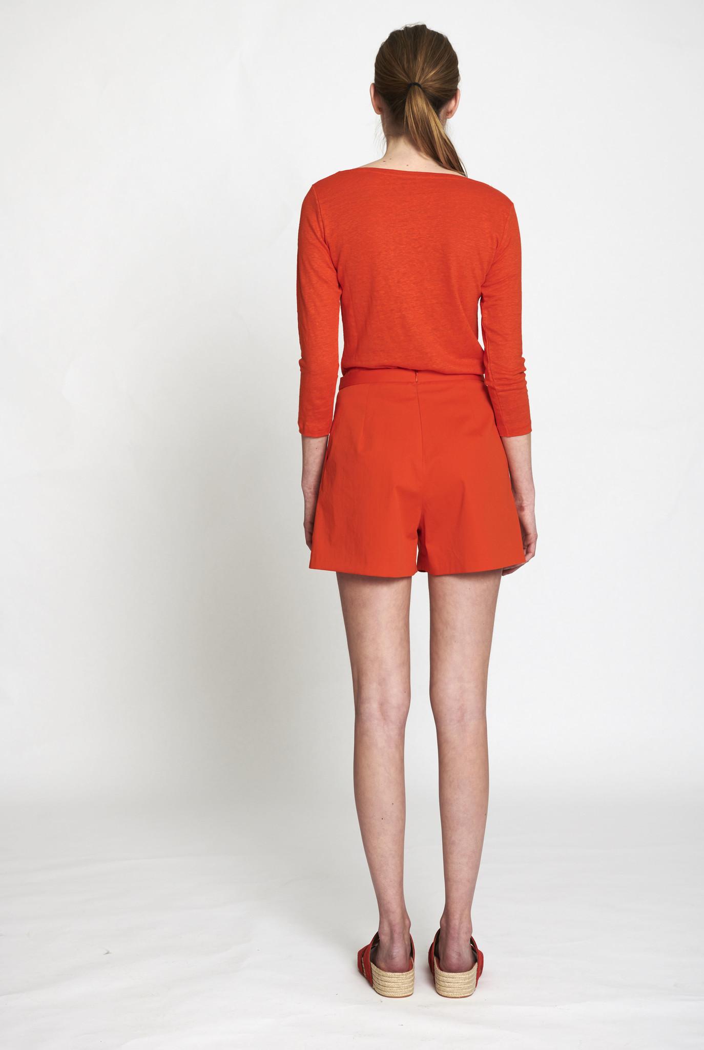 Happy end shorts poppy