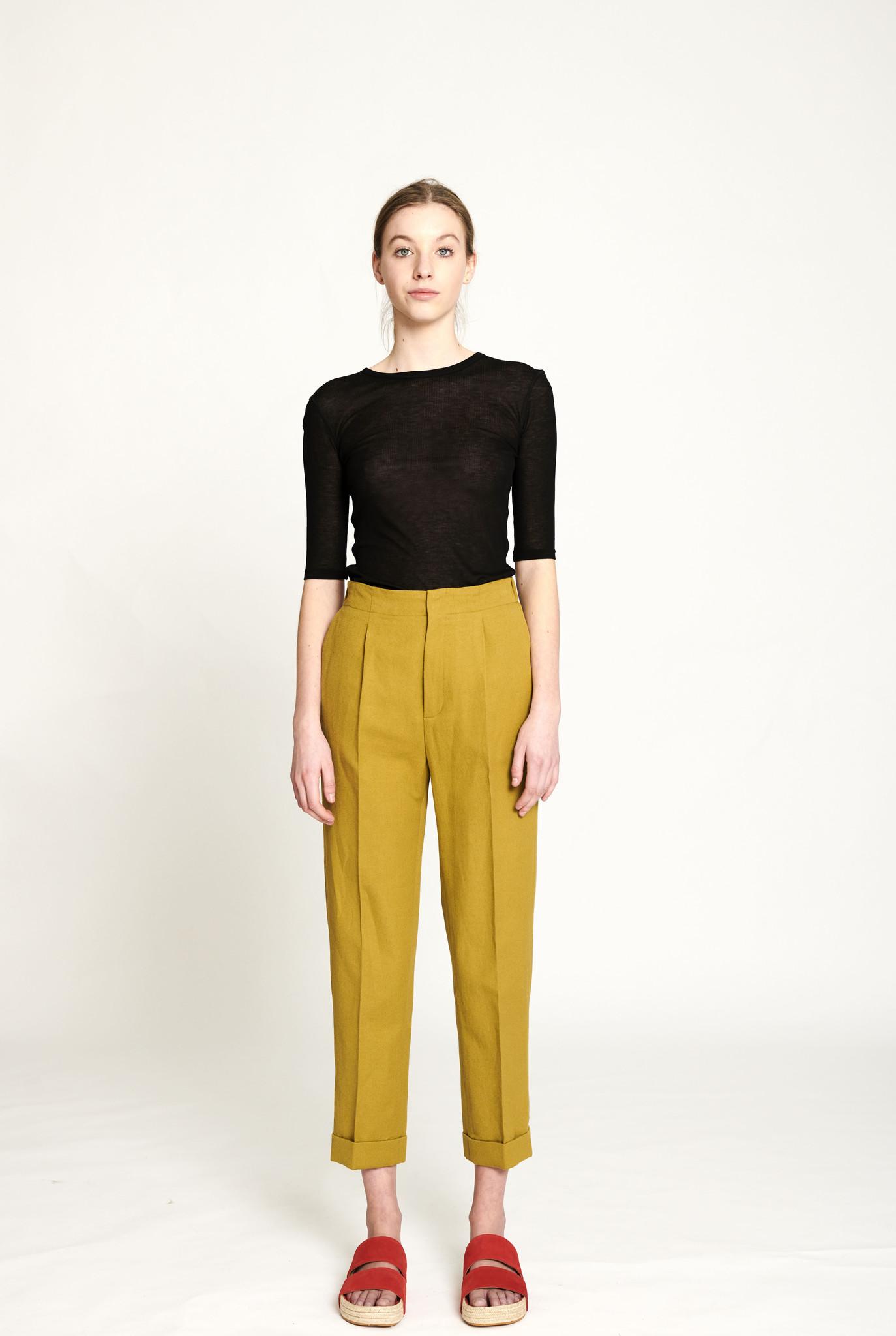 Junie trousers khaki