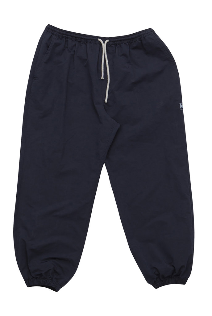 Navy tracking trousers