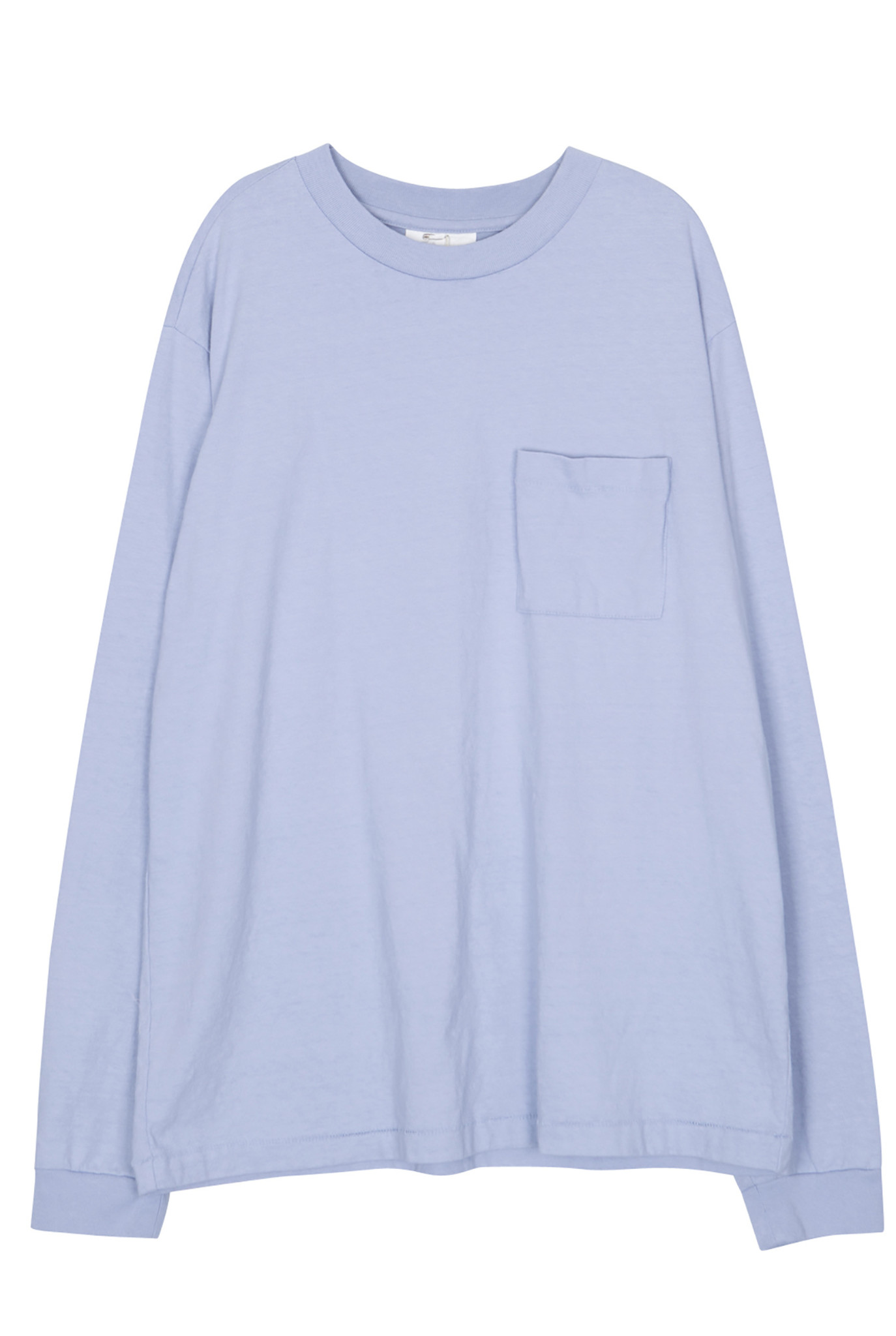 Pocket t-shirt pale blue