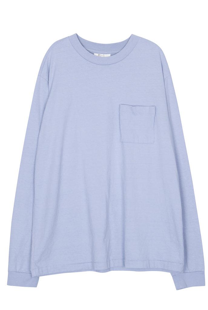Pocket t-shirt pale blue