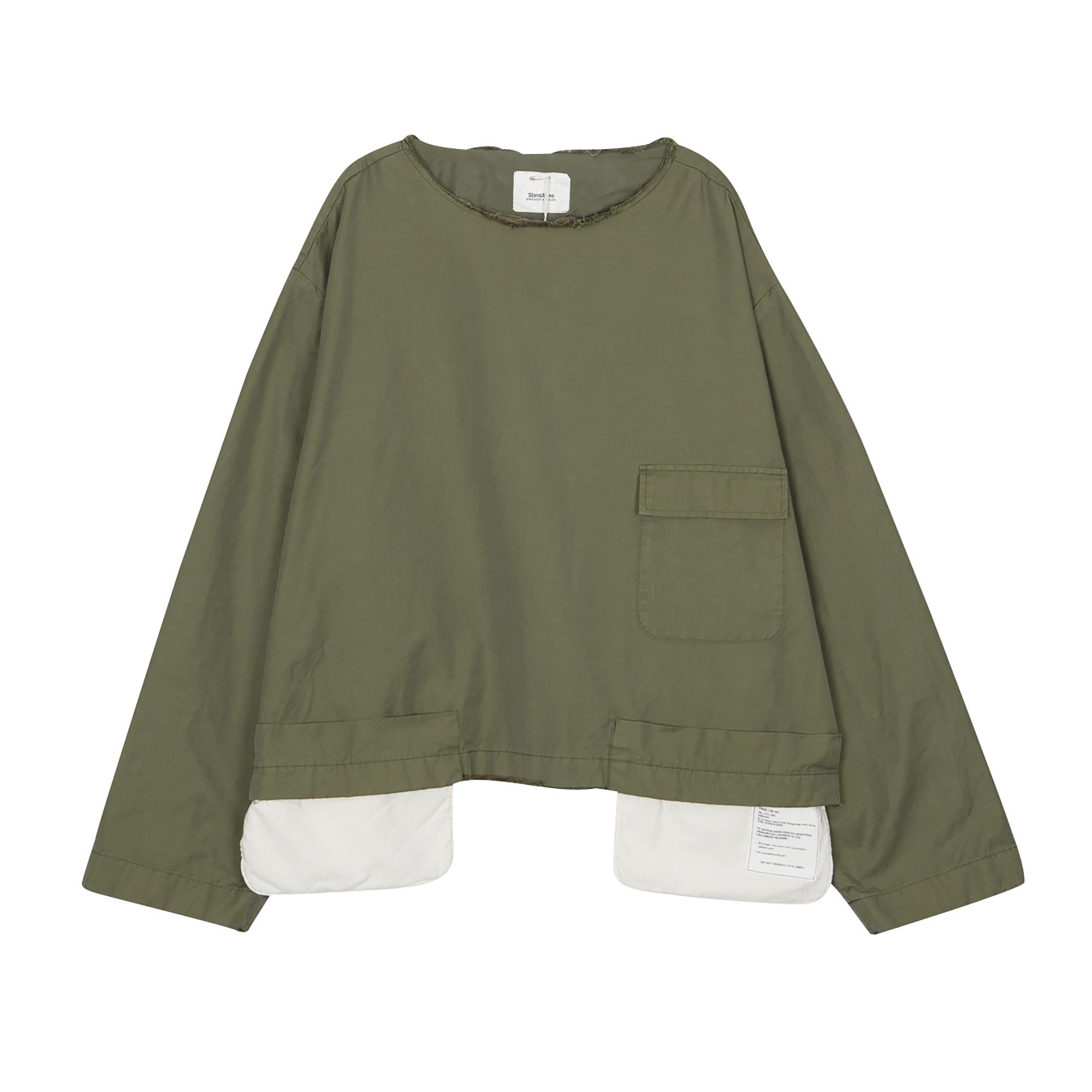 Closed shirt khaki