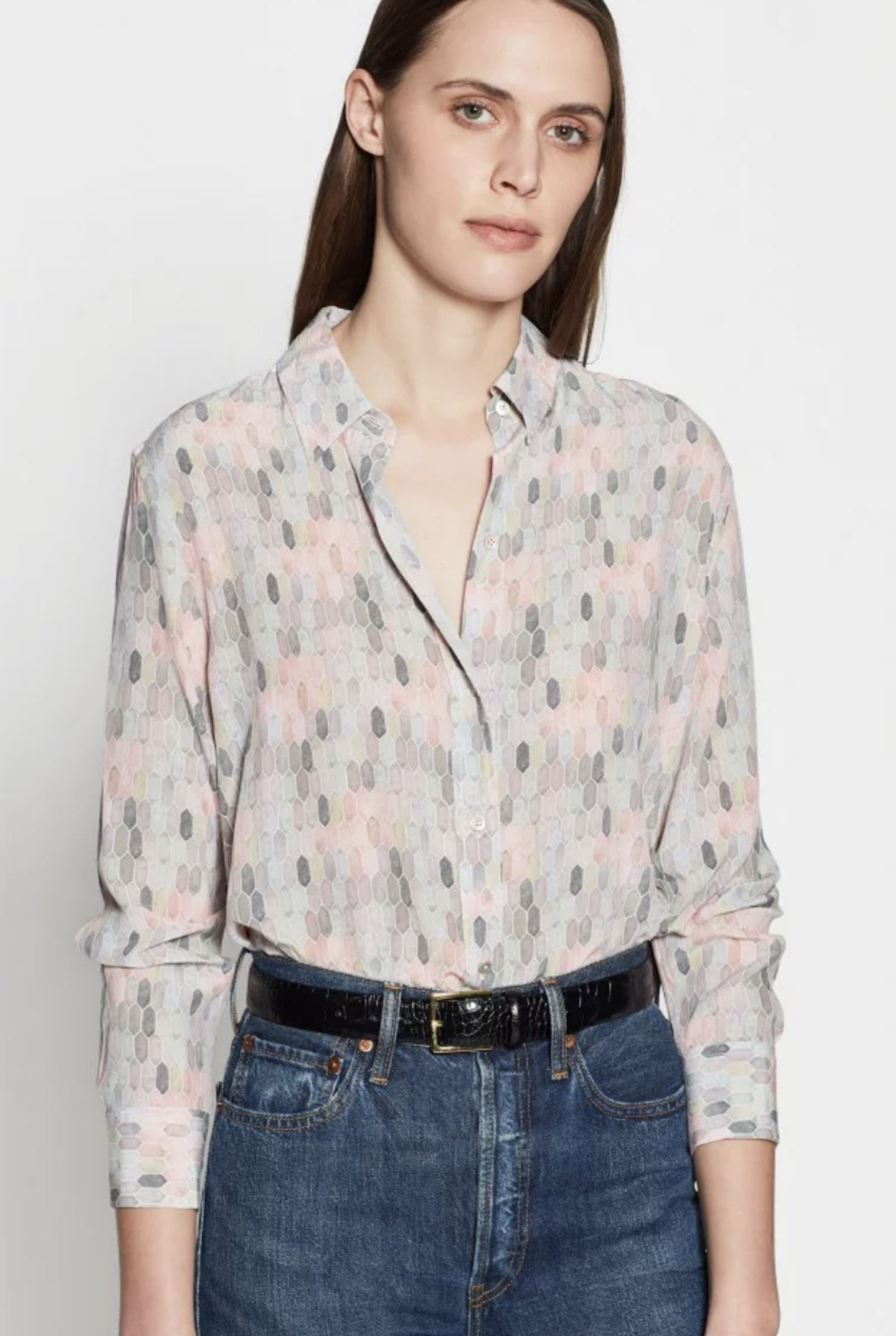 Daddy blouse Pink pastel