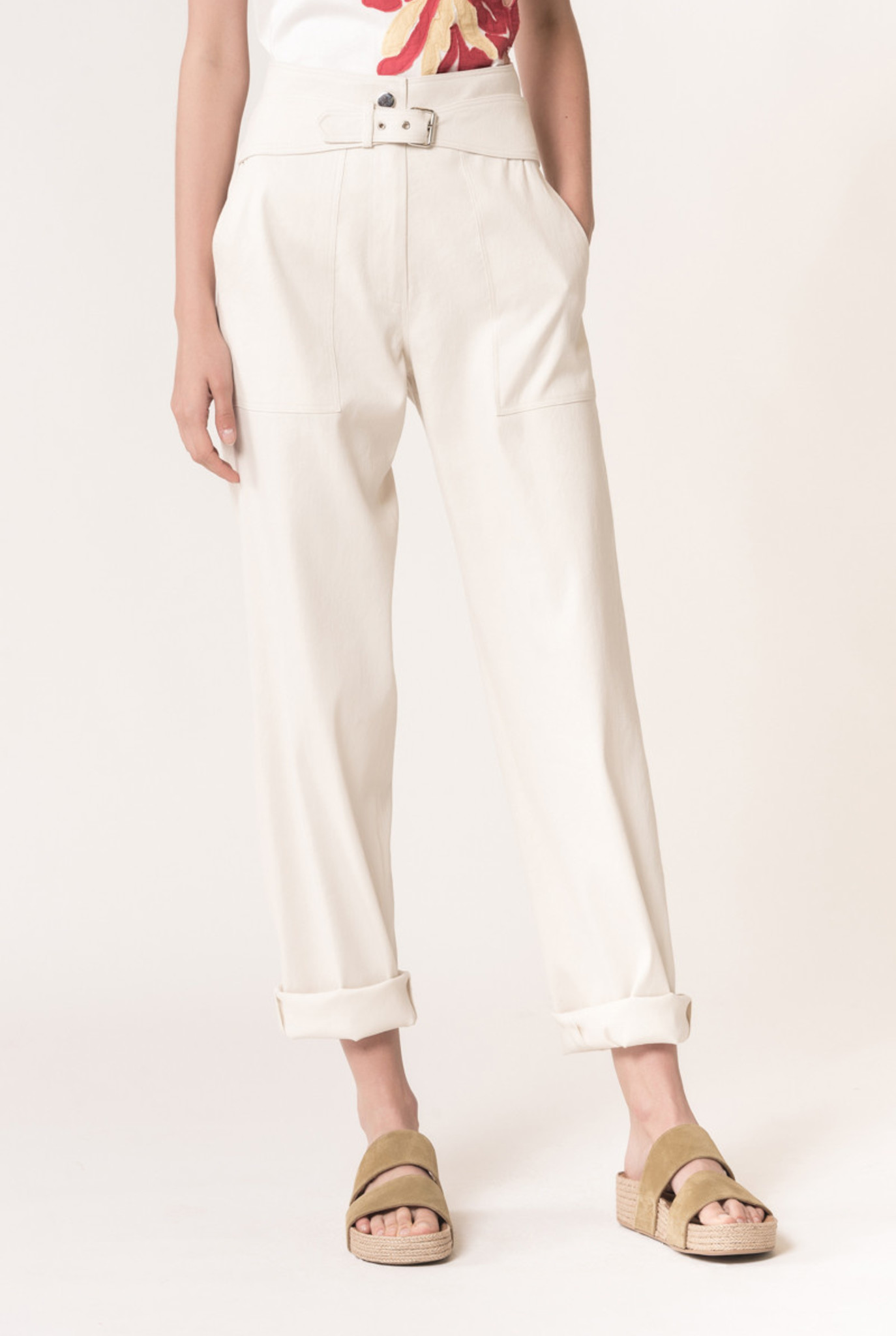 Lucciano trousers creme