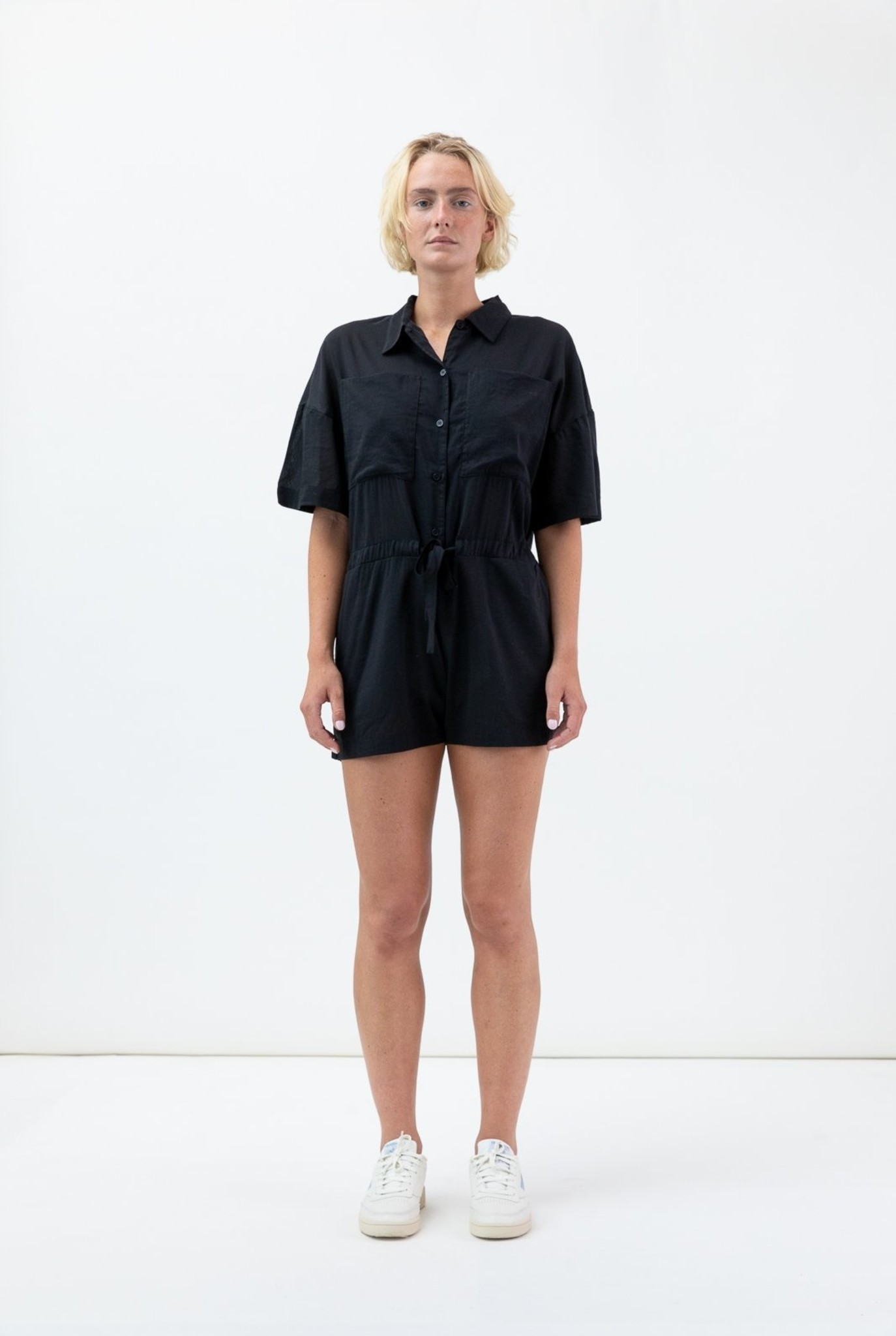 Paloma short jumpsuit black