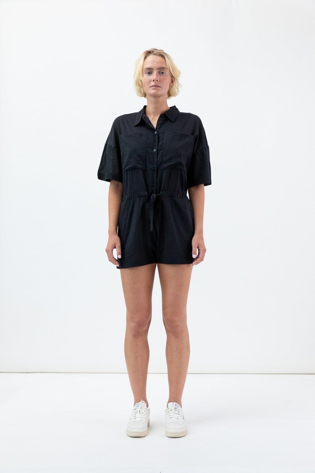 Paloma short jumpsuit black