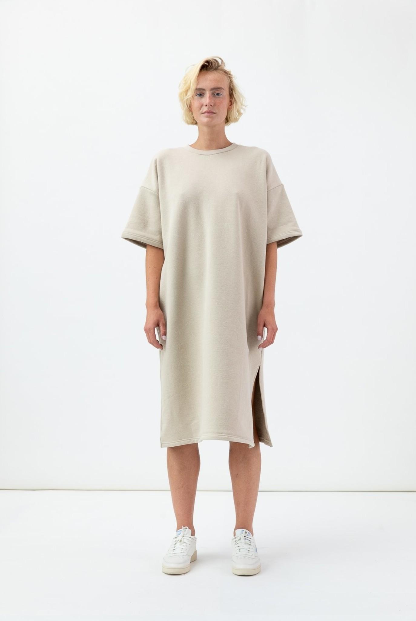 Niki S/S dress doeskin beige