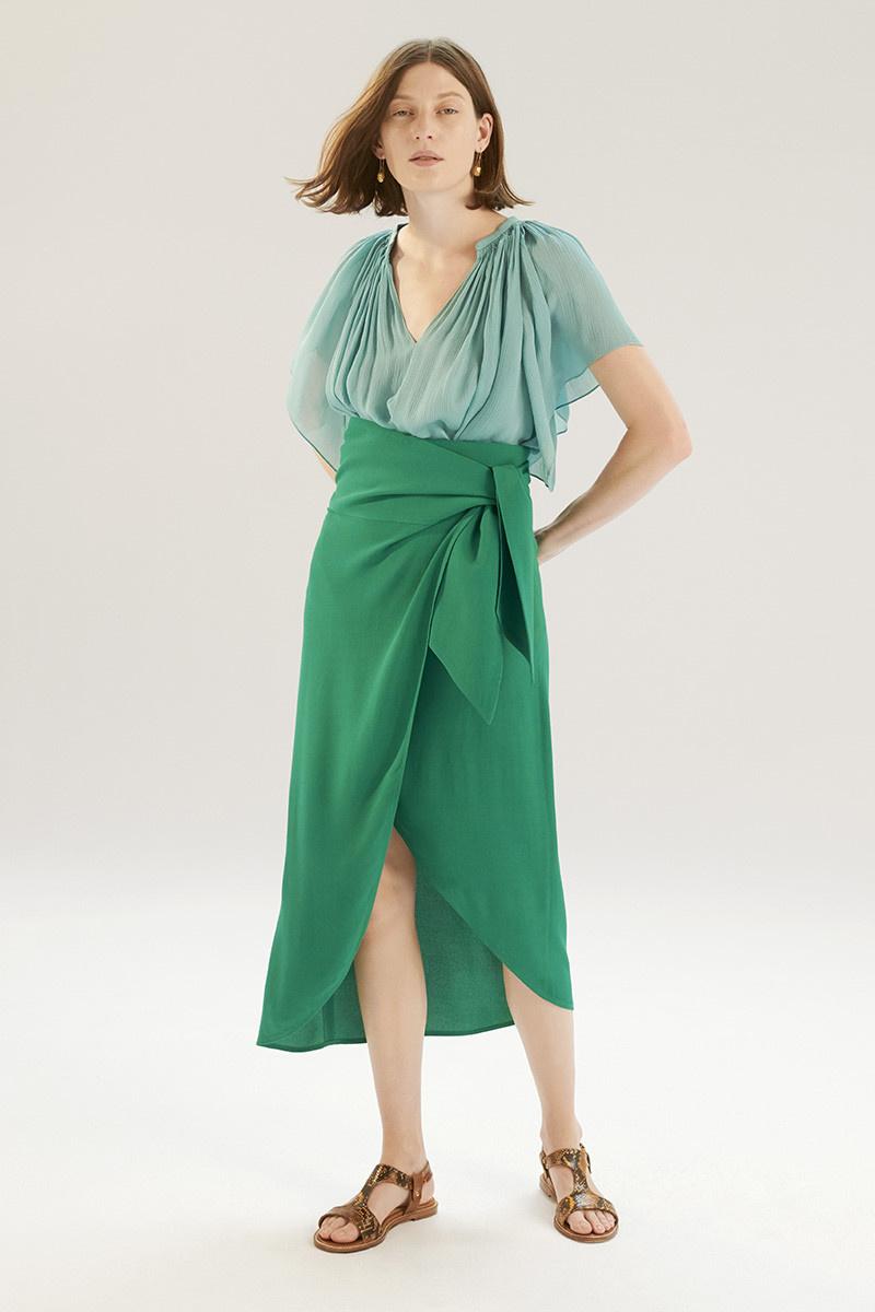 Libby skirt green