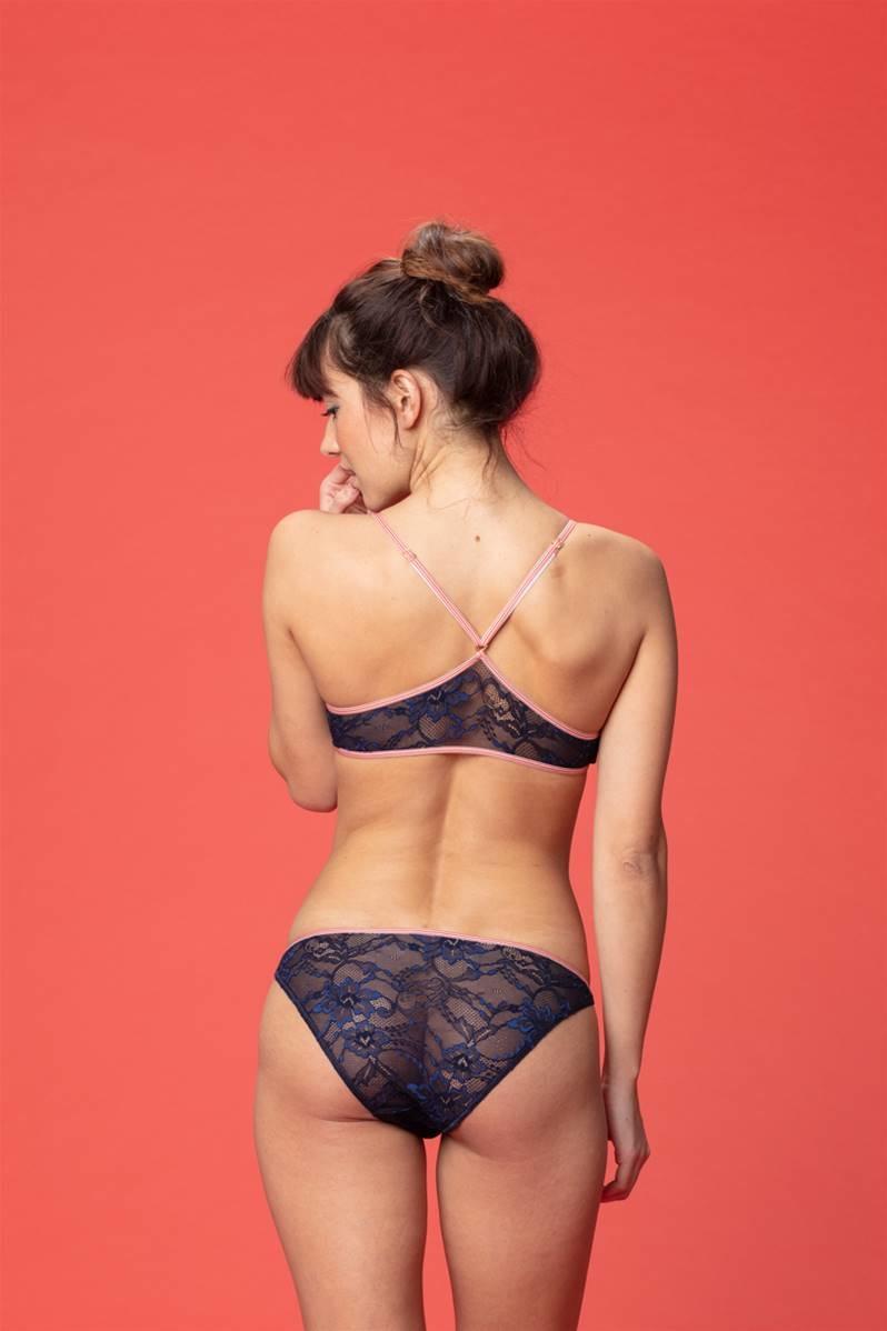 Angele brassiere navy lace