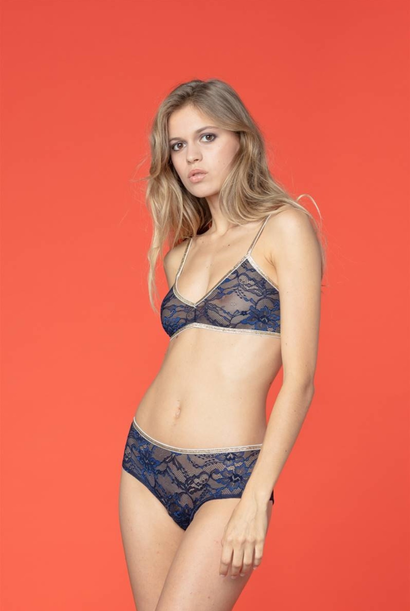 Georgia shorty navy lace