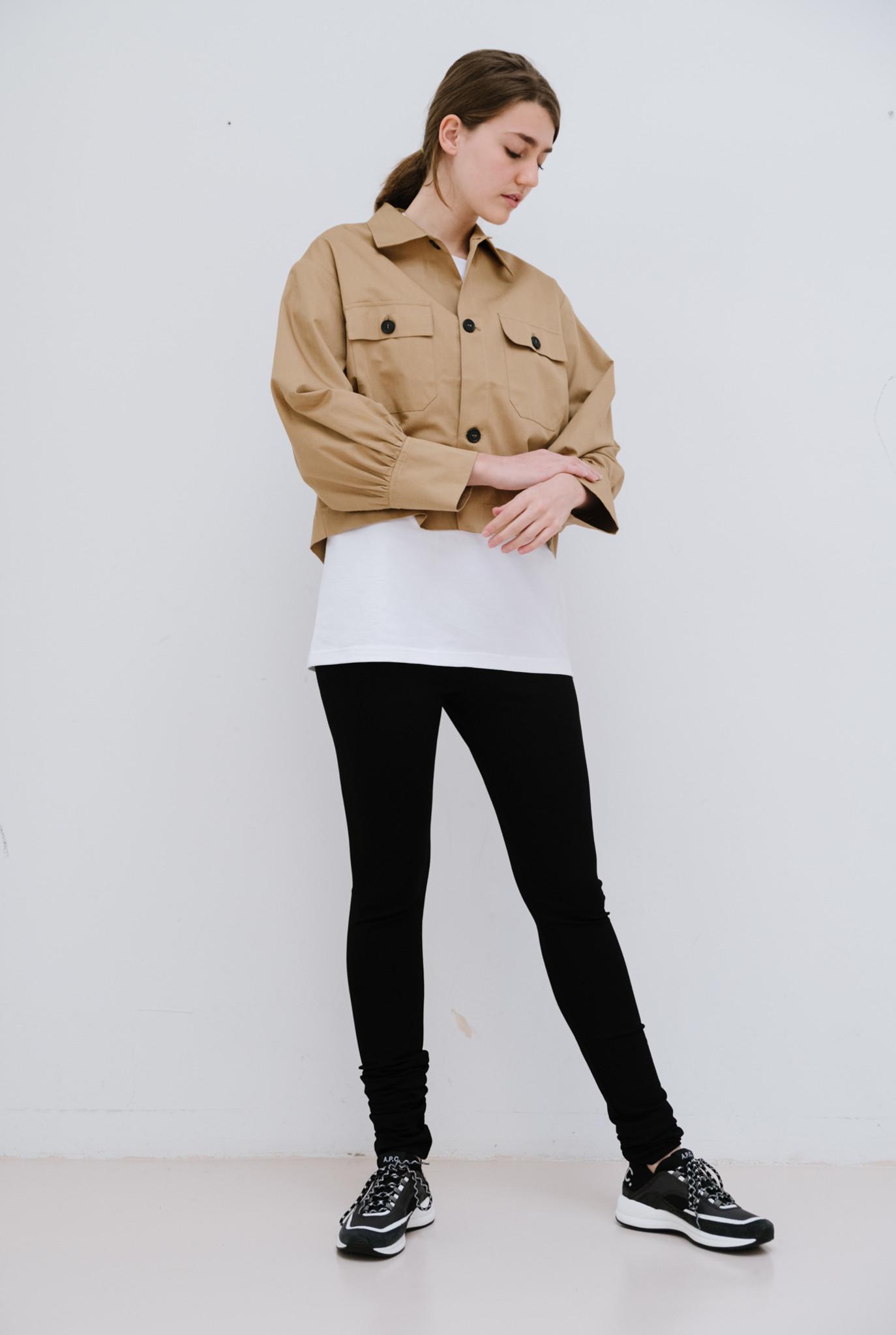 Jacket blouse biscotto