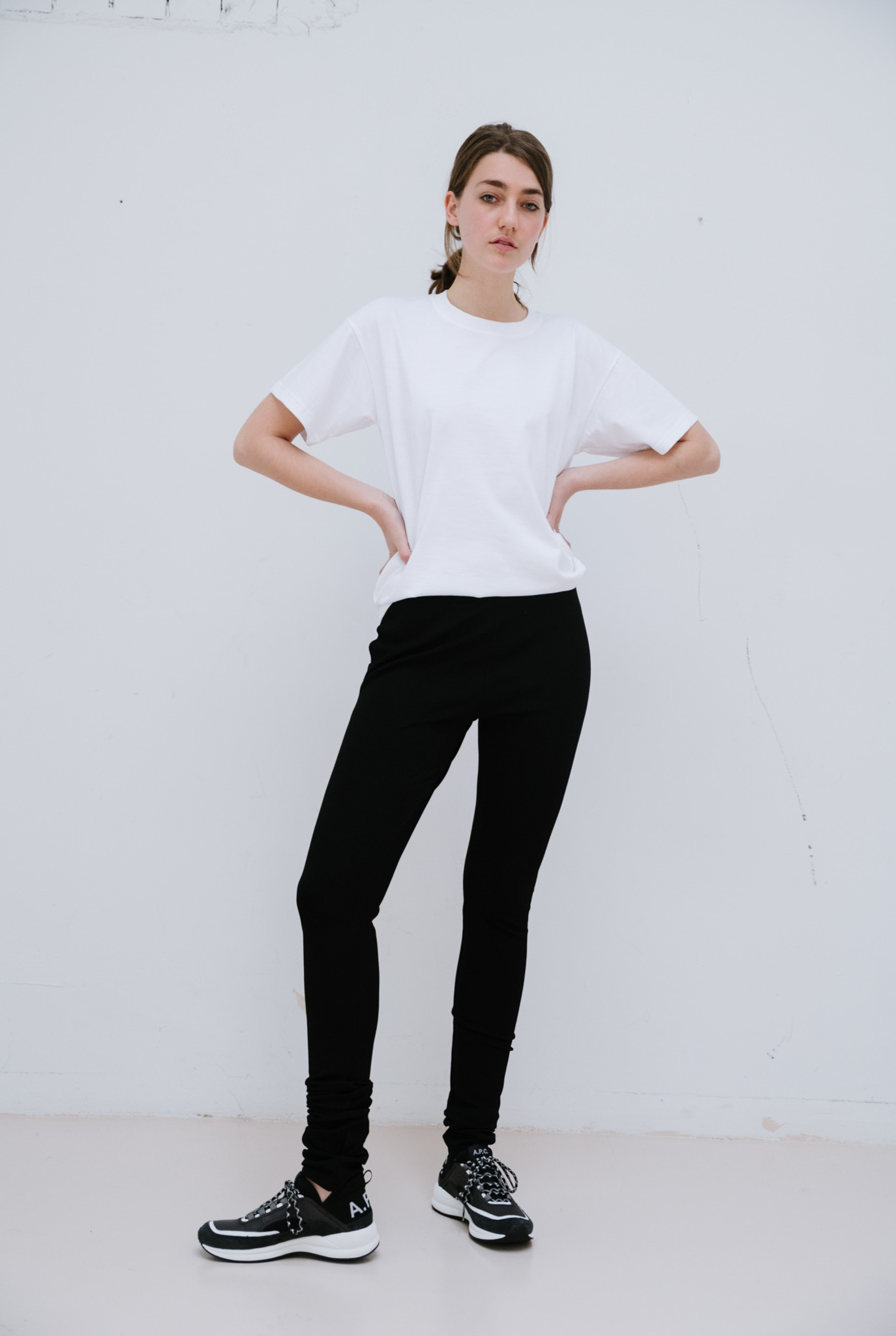 Legging black matte lycra