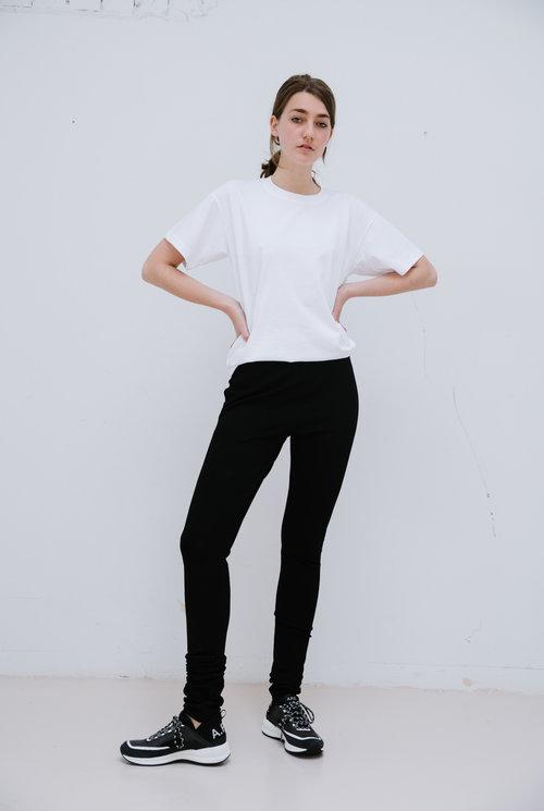Legging black matte lycra