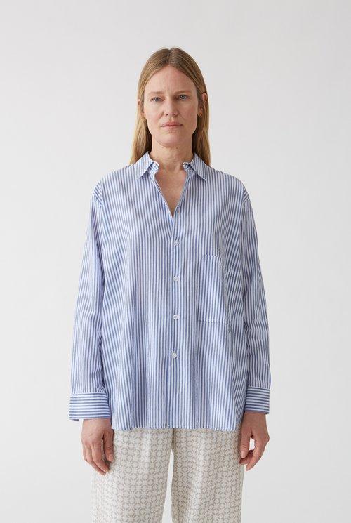 Elma shirt Blue Stripe